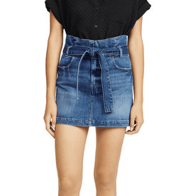 Frame Frame Belted Pleated Mini Skirt