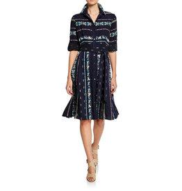 Finley Finley Jeanette Taos Stripe Shirtdress