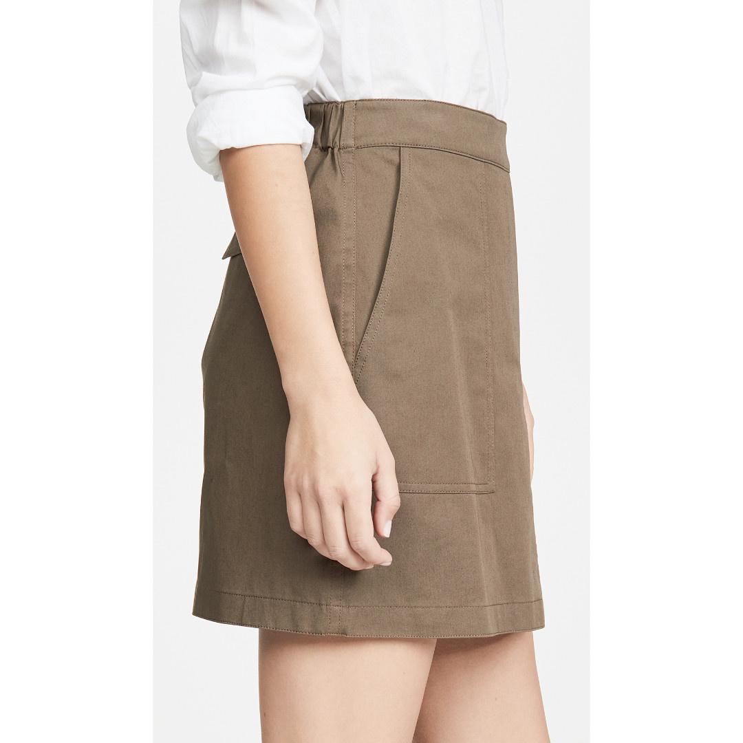 Theory Theory Stitched Pocket Skirt