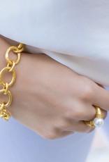 Julie Vos Julie Vos Catalina Small Link Gold Pearl