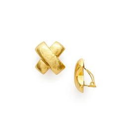 Julie Vos Julie Vos Catalina X Clip-On Gold