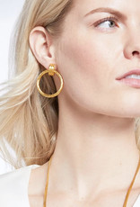 Julie Vos Julie Vos Savannah Doorknocker Earring Gold