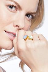 Julie Vos Julie Vos Honey Stacking Ring