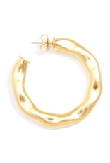 Zenzii Zenzii Safari Hoop Earring Gold