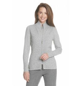 J'Envie J'Envie Textured Zip Vest