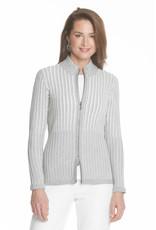 J'Envie J'Envie Textured Zip Cardigan