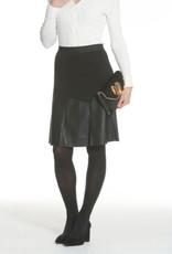 J'Envie J'Envie Ponte Combo Skirt