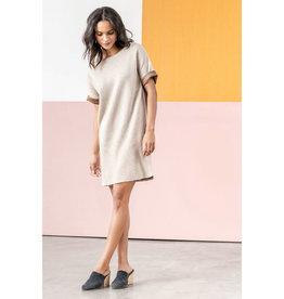 Lilla P Lilla P Reversible Rolled Sleeve Dress
