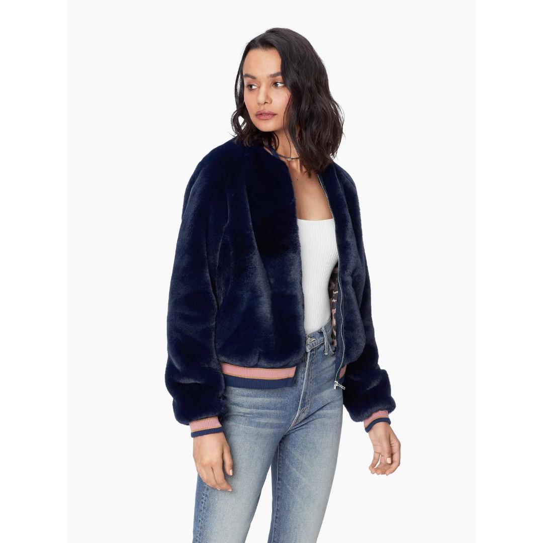 Mother Mother The Letterman Fur Jacket