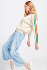 Brodie Cashmere Brodie Sunset Round Neck Sweater