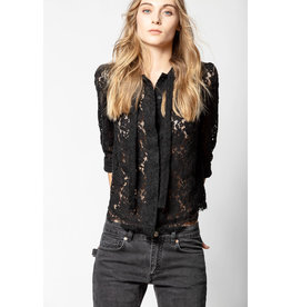 Zadig & Voltaire Zadig & Voltaire Touch Lace Top