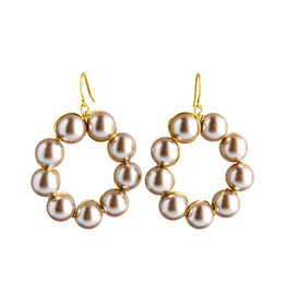 Catherine Page Catherine Page Amy Pearl Hoop Earring