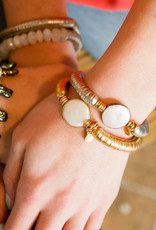 Catherine Page Evra Bracelet with In-Line Link