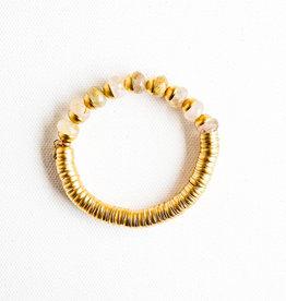 Catherine Page Evra Gold Stone Bracelet