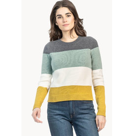 Lilla P Lilla P Striped Pullover Sweater