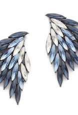 AC Jewelry Wing Drop Earrings