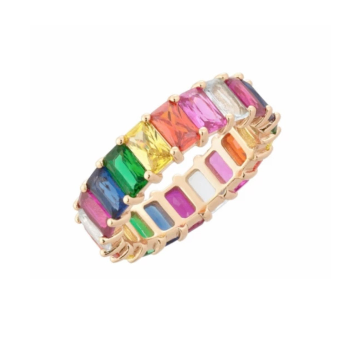 AC Jewelry Baguette Band Ring