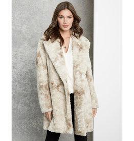 Fifteen Twenty Fifteen Twenty Faux Fur Coat