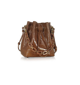 Lancaster Paris Lancaster Paris Exotic Croco Bucket Bag