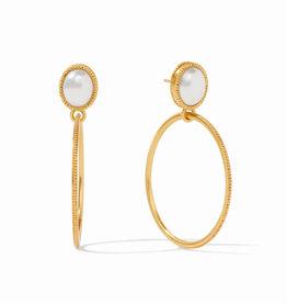 Julie Vos Julie Vos Verona Earring Gold Pearl