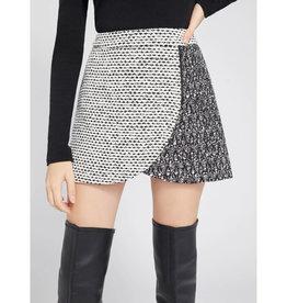 Alice & Olivia Alice & Olivia Lennon Side Zip Mini Skirt