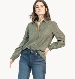 Lilla P Lilla P Long Sleeve Button Down