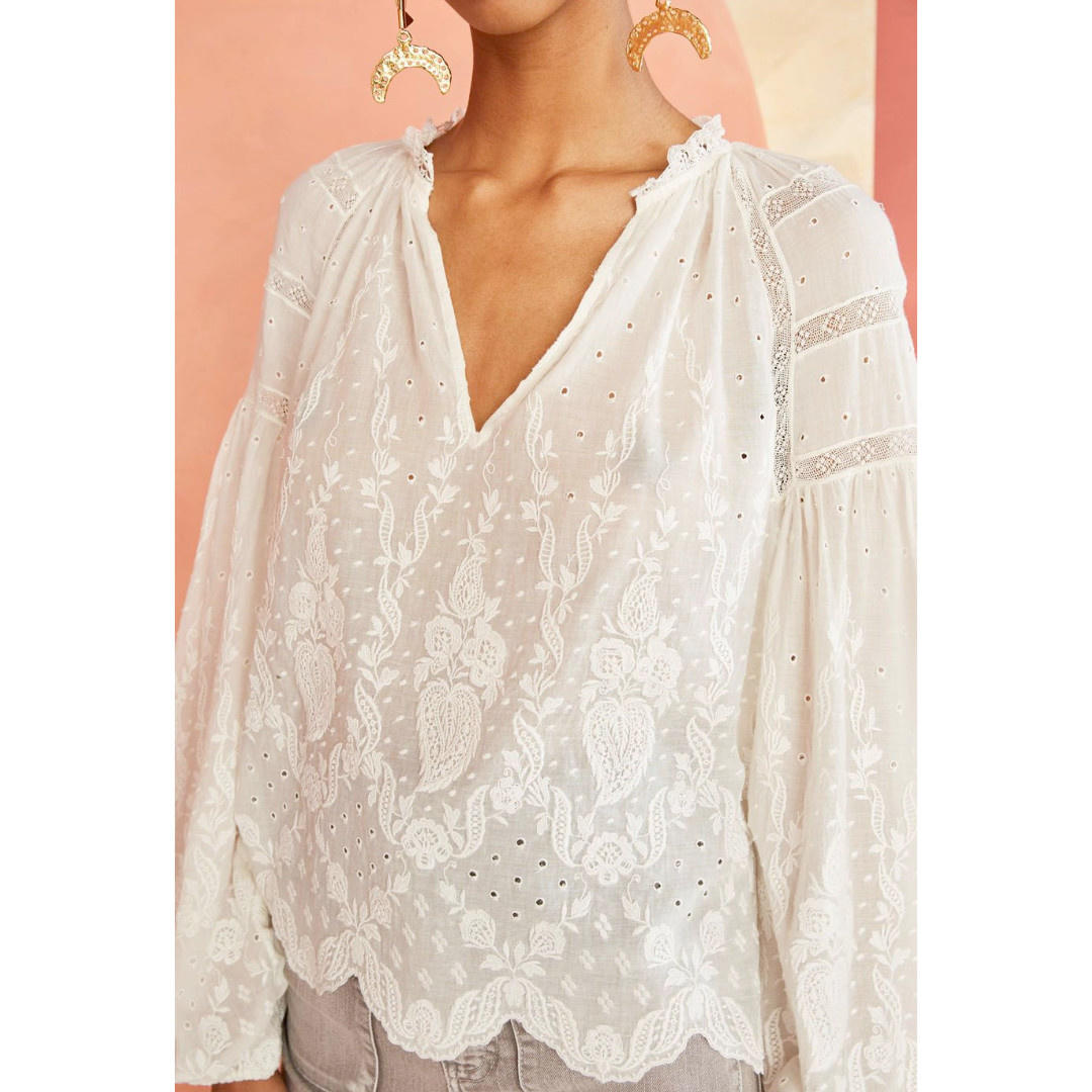 Ulla Johnson Ulla Johnson Harper Blouse