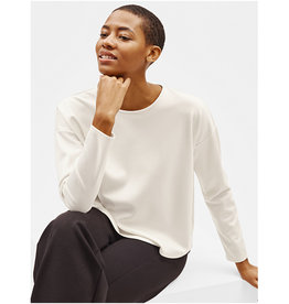 Eileen Fisher Eileen Fisher Crew Neck Shirt Box Top