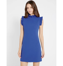 Alice & Olivia Alice & Olivia Elsa Ruffle Collar Dress
