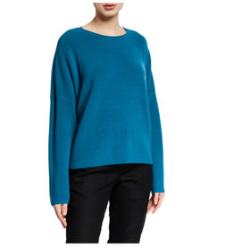 Eileen Fisher Eileen Fisher Crew Neck Box Top