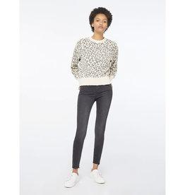 Frame Frame Animal Print Sweatshirt