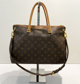 Louis Vuitton Louis Vuitton Brown Monogram Pallas