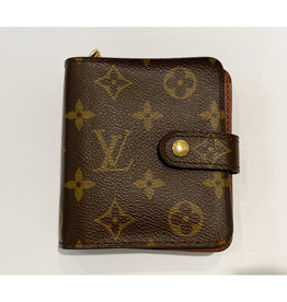 Louis Vuitton Louis Vuitton Monogram Compact Zip Wallet