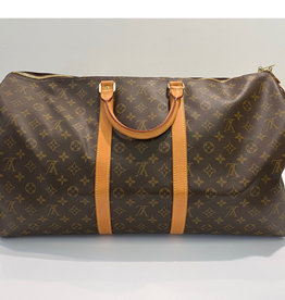 Louis Vuitton Louis Vuitton Monogram Keepall 55