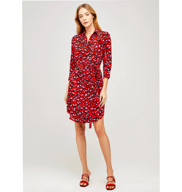 L'AGENCE L'Agence Stella Short Shirt Dress