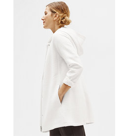 Eileen Fisher Eileen Fisher Hooded Long Jacket