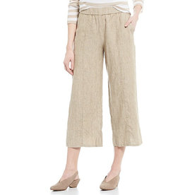 Eileen Fisher Eileen Fisher Pull-On Wide Crop Pant