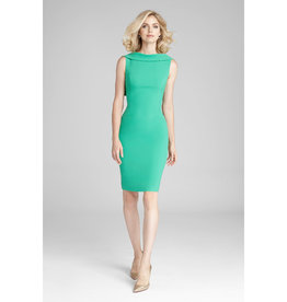 Teri Jon Teri Jon Sleeveless Cuff Dress