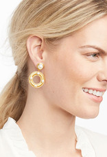 Julie Vos Julie Vos Olympia Earring Gold Pearl