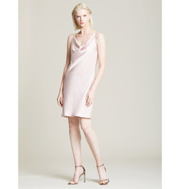 Halston Heritage Halston Cowl Satin Slip Dress