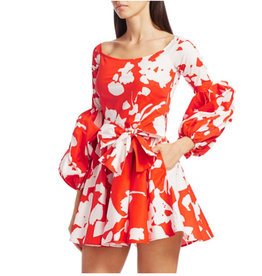 Caroline Constas Caroline Constas Mini Gisele Dress