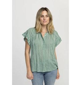 Trovata Marianne Ruffle Sleeve Shirt