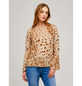L'AGENCE L'agence Dylan Bell Sleeve Blouse