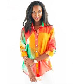 Finley Finley Clark Shirt Abstract Apple