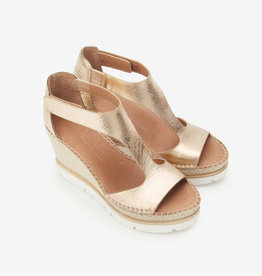 Gentle Souls Elyssa Easy T-Strap Wedge Sandal