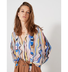 Marella Marella Dipinto Patterned Blouse