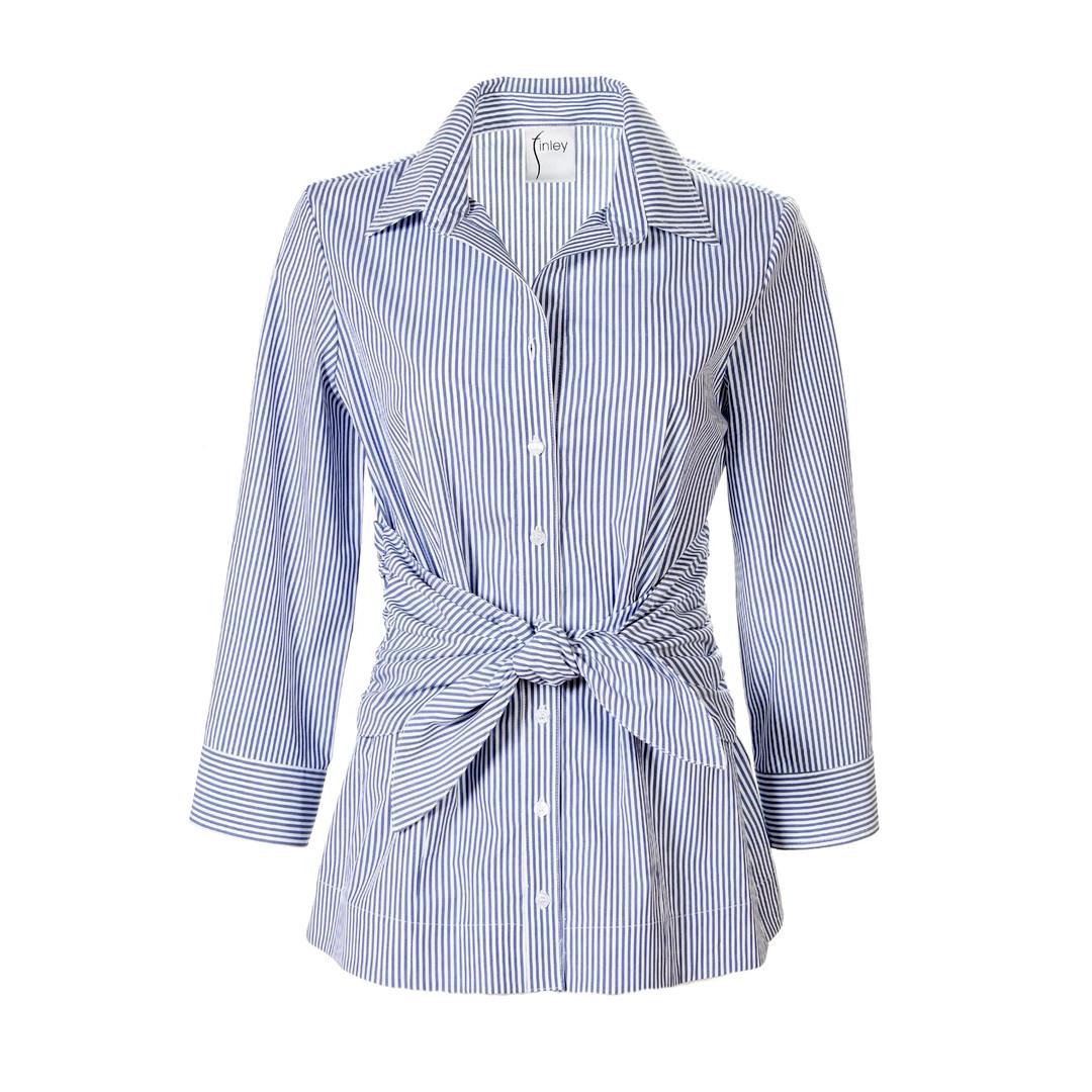 Finley Finley Ellis Tie Front Shirt
