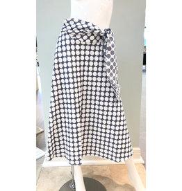 ML Monique Lhuillier ML Monique Lhuillier Front Tie Detail Skirt