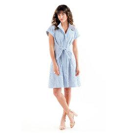Finley Finley Rocky Dress Textured Stripe