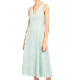 Theory Theory Seamed V Neck Dress